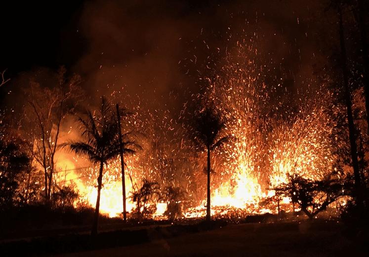 התפרצויות הרי געש בהוואי - מדע - מדע פלוס