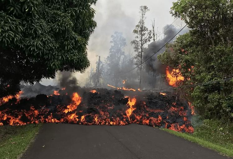 התפרצויות הרי הגעש המתרחשות כעת בהוואי - מדע - מדע פלוס