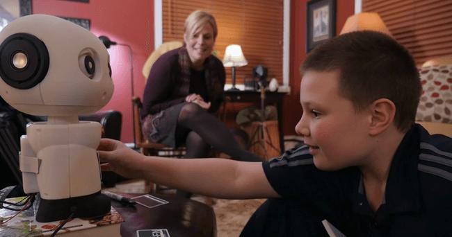 הילדים לא קוראים מספיק הפתרון רובוט - טכנולוגיה - מדע פלוס