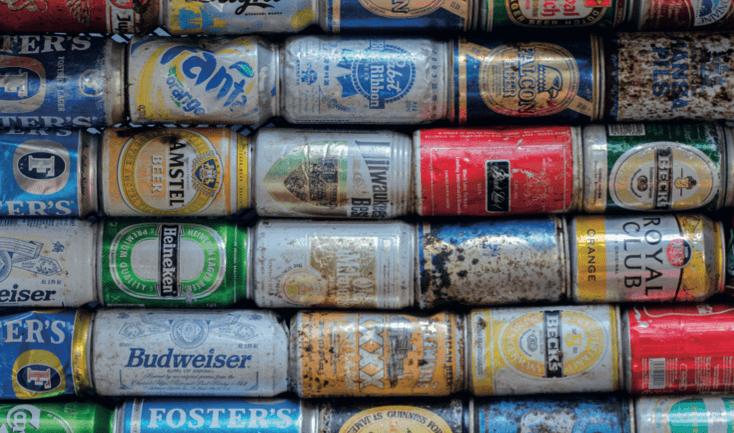 פחיות בירה אמריקאיות - מדע פלוס