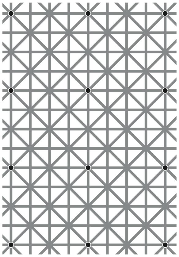 האם תצליחו לראות את כל הנקודות בבת אחת? - מדע - מדע פלוס