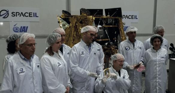 חללית ישראלית ראשונה לירח הצוות - חלל - מדע פלוס