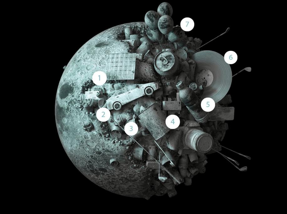מכרה על הירח - חלל - מדע פלוס