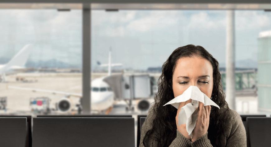 כיצד להישאר בריאים בטיסה גדושת החיידקים הבאה - טבע - מדע פלוס