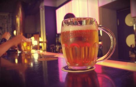 הבירה מאז ומתמיד היתה על השולחן
