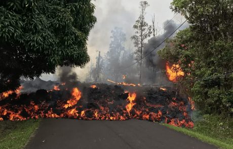התפרצויות הרי הגעש המתרחשות כעת בהוואי