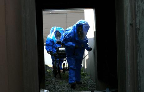 נשק כימי ואיך והדרכים שלו לפגוע בגוף