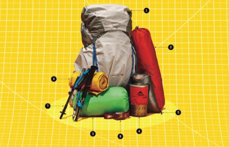 ציוד חיוני למחנה קמפינג קטן ויעיל